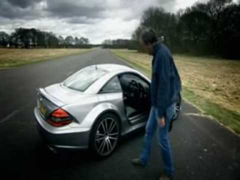 Top gear Mercedes sl65 amg black series