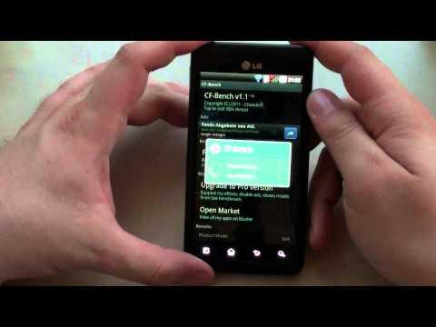 Testbericht: LG P920 OPTIMUS 3D - #6 Benchmarks