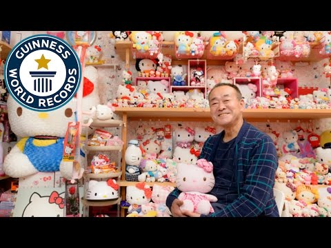 Largest collection of Hello Kitty memorabilia - Guinness World Records