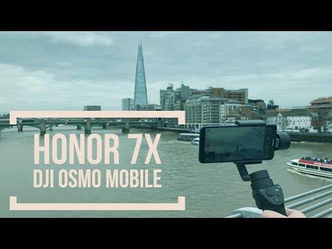 London mit dem Honor 7X und dem DJI Osmo Mobile