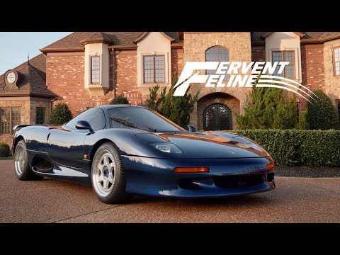 1991 Jaguar XJR-15: Britain's Fervent Feline