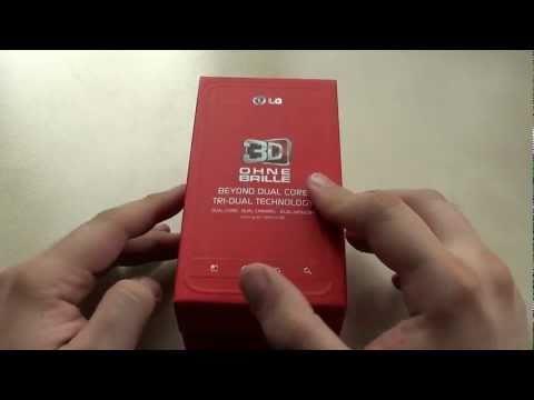 Testbericht: LG P920 OPTIMUS 3D - #1 Unboxing und Hands-On