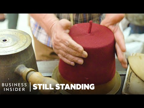How One Of The Last Fez Makers In Cairo Keeps A 600-Year-Old Tradition Alive   Still Standing