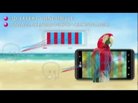 So funktioniert die Parallaxenbarriere des LG P920 OPTIMUS 3D