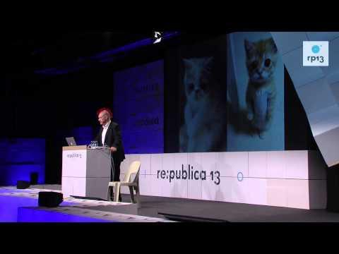 re:publica 2013 - Sascha Lobo: Überraschungsvortrag II