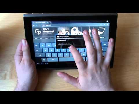 Video-Review Acer ICONIA TAB A500