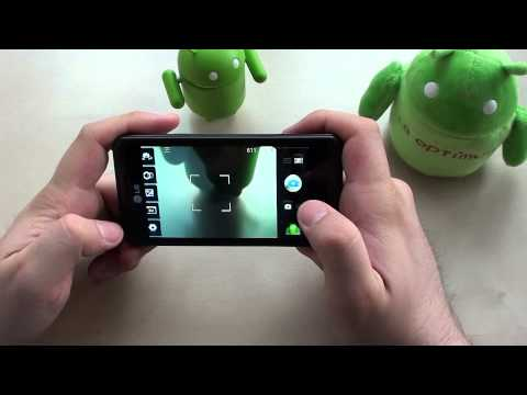Testbericht: LG P920 OPTIMUS 3D - #3 3D Menü, Games und Kamera