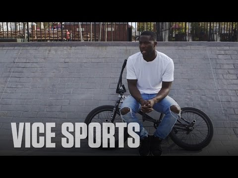 Nigel Sylvester Taking on BMX: VICE Sports Meets (Part 1)