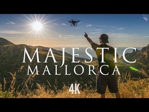 Majestic Mallorca Drone Footage (4K)
