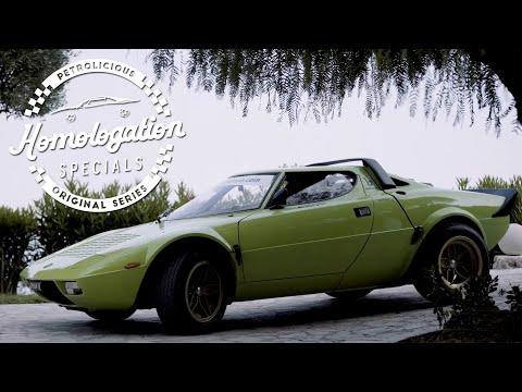 Homologation Specials: 1974 Lancia Stratos HF Stradale
