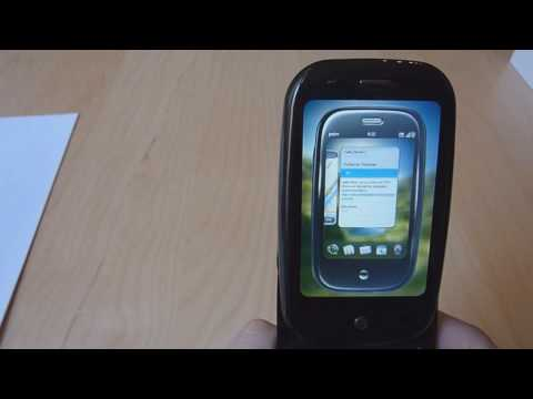 Palm Pre Hands-On / Unboxing Teil 2