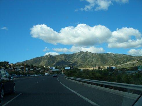Unterwegs nach Marbella