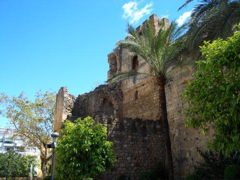 Die arabische Mauer in Marbella