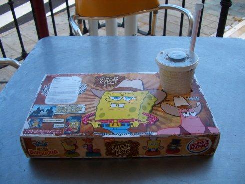 Spongebob Kids Menü