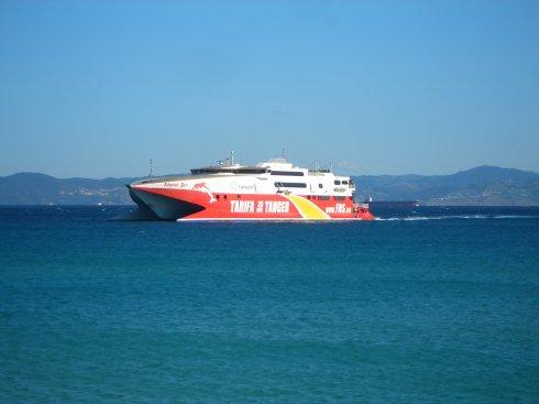 Die Fähre von Tarifa (Spanien) nach Tanger (Marokko)
