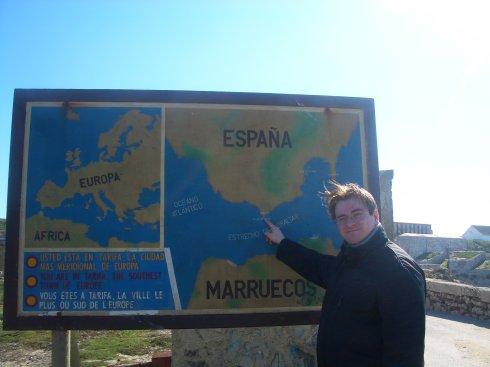 Liebe Kinder, dies ist der südlichste Punkt europäischen Festlandes.