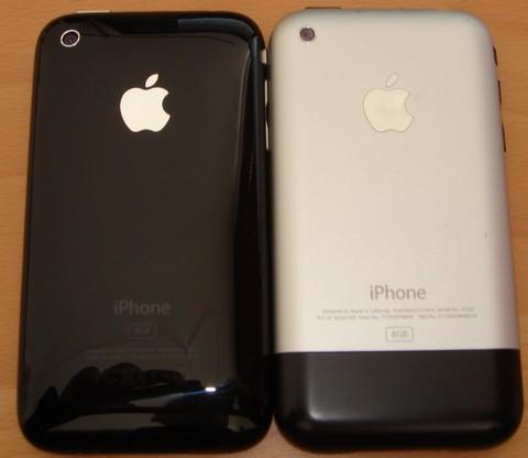 iPhone 3G vs. iPhone 2G Vergleichstest Testbericht