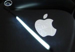 Kratzer auf der Rückseite des iPhone 3G