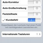 iPhone Software Update 2.2 – Autokorrektur endlich abschaltbar