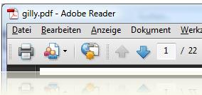 PDF Dateien zusammenfügen