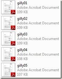 Mehrere PDF Dateien zusammenfügen