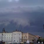 Der Fernsehturm und der Regenbogen