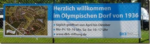 olympische dorf elstal bei berlin