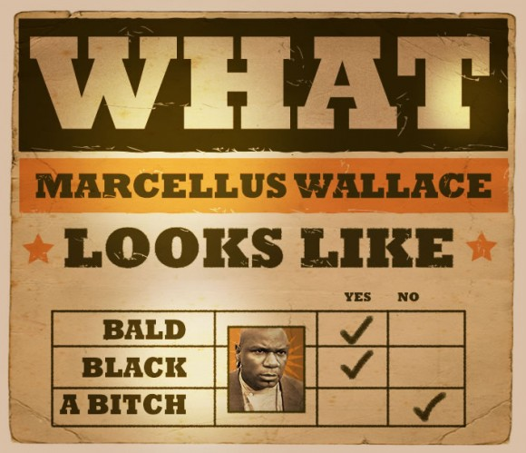 what marcellus wallce looks like