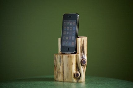 10 kreative iphone ipod touch docking stationen zum. Black Bedroom Furniture Sets. Home Design Ideas