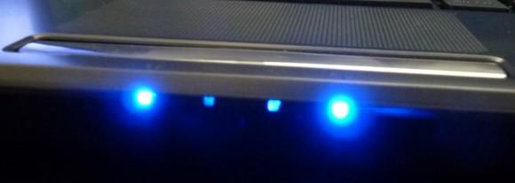 Asus UL80JT Testbericht - LED