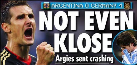 Not even Klose