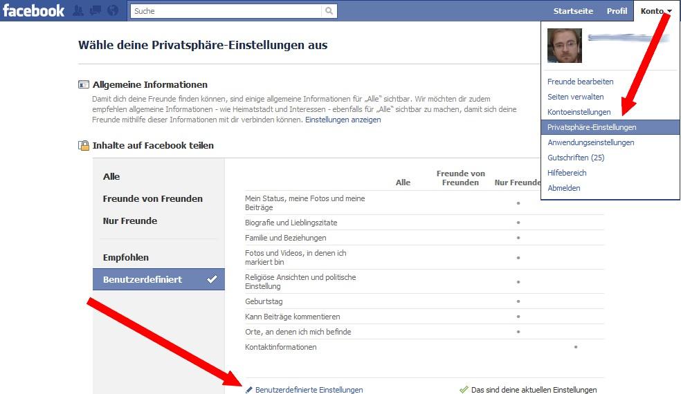 So deaktiviert man Facebook Places und die Funktion, dass andere den eigenen Standort taggen