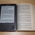Amazon Kindle 3 vs. Buch 3