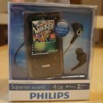 Verlosung: MP3-Player PHILIPS GoGear Ariaz 4GB