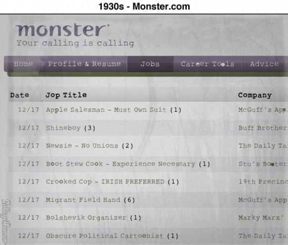 1930s Monster