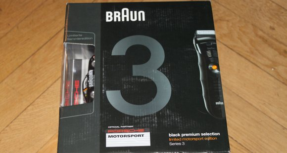 Braun Series 3 Posche Edition
