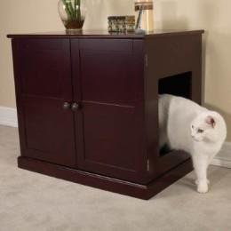 Mahagoni Katzenklo