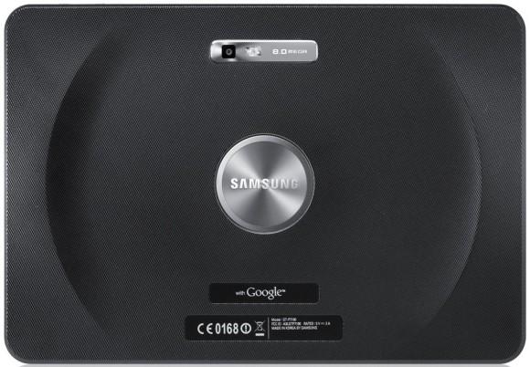 Samsung Galaxy Tab 10.1 Rückseite