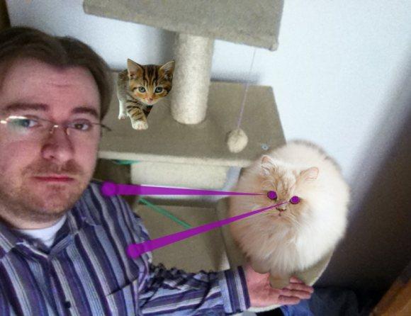 iPhone App CatPaint