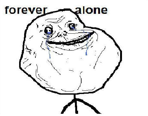 FOREVER ALONE on Friday (Rebecca Black spoof)