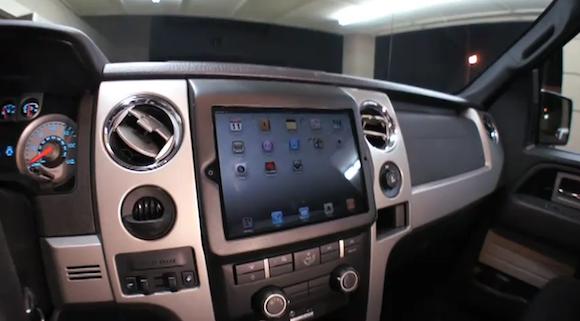 iPad 2 Autoeinbau