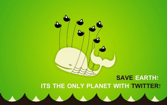 Save Earth it's the only planet with twitter