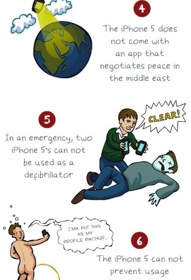 9 Reasons not to buy an iPhone 5