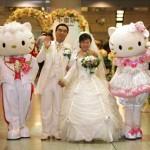 Hello Kitty Hochzeit