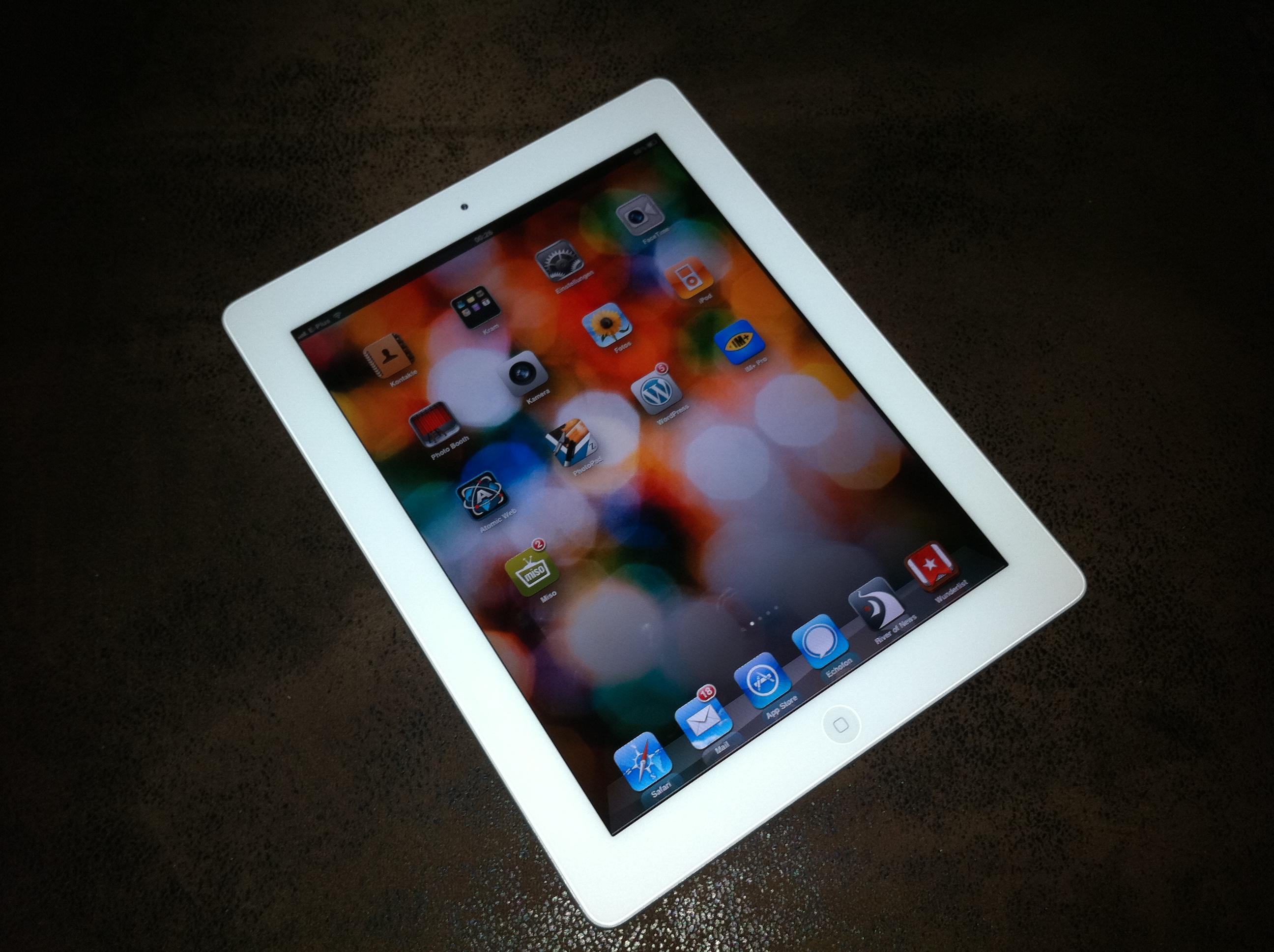 iPad 2 weiss