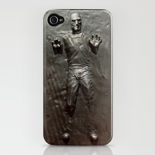 Steve Jobs Carbonite iPhone Case
