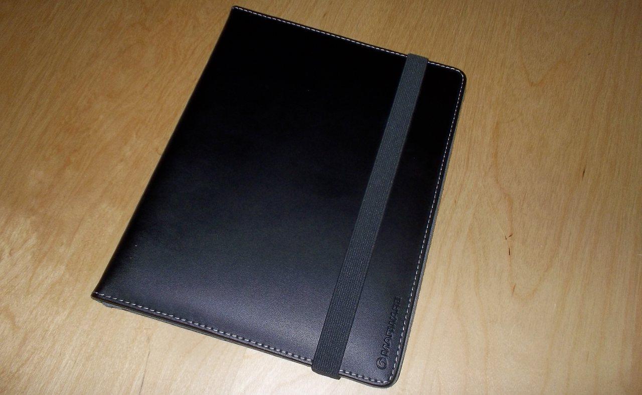 iPad 2 Schutzhülle aus Leder - Marware EcoVue for iPad 2 vorne