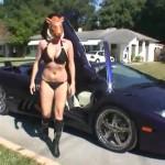 WTF Girl Lamborghini