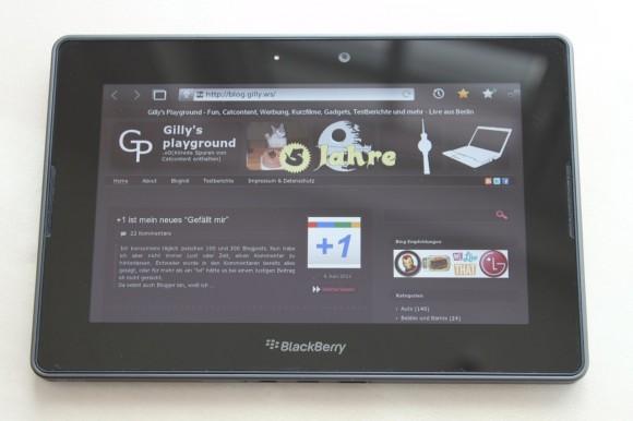 BlackBerry PlayBook Testbericht