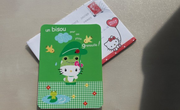 Hello Kitty Postkarte